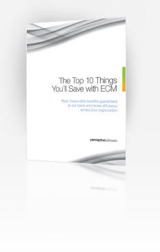 The Top 10 Things You'll Save with ECM